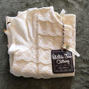 Matilda Jane Girls top size 4 NWT